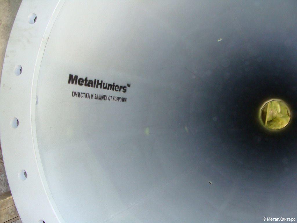 Нанесение маркировки на металлоконструкцию после обработки