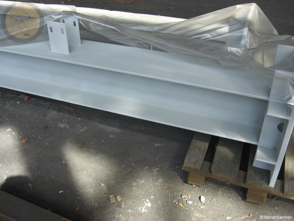 Антикоррозионное металлизационное покрытие металлоконструкций-ферм, двутавров.