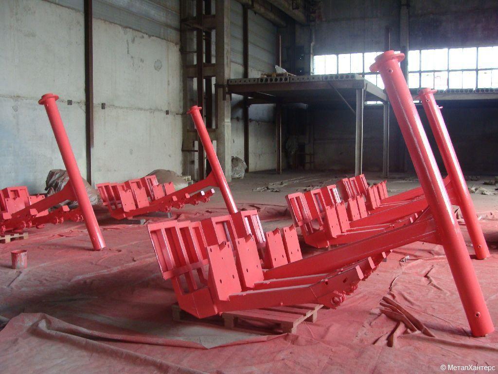 Окраска кабин колеса обозрения